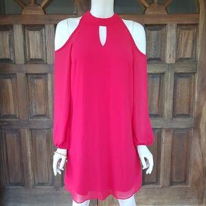 BCX could shoulder peephole dress